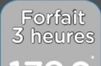 Forfait 3h00