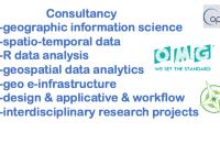 Conseil en sciences des données Géo-spatiotemporelles & R analYtics