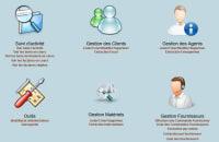 Développement application back-office web dynamique
