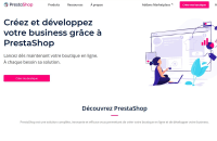 Création de votre E-boutique sous préstashop / modules