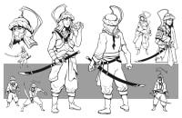 Character design - Design de personnage