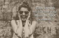 Création site web vitrine Mobile first (Wordpress)