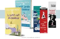 Illustration - Couverture de livre - Marque page - Carte postale