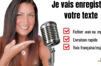 Service d'enregistrement voix-off