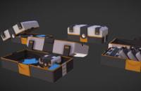 Production d'asset 3D / Personnage 3D