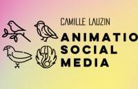 Animation social media