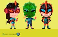 Illustrations Character design