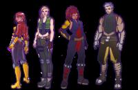 Je crée vos personnages pour vos jeux viéos, films ou mascotte