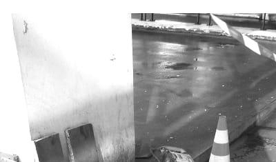 Mission de vérification de la capacité portante d'une dalle continue en béton armé