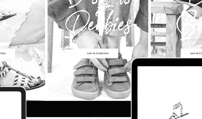 Création d'un site e-Commerce pour la marque de chaussures Les Pympren'Elles
