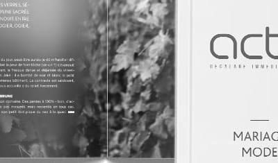 Magazine ActivMag : reportage photo + PAO