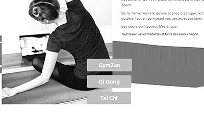 Site web Kaizen Santé