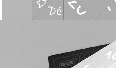 """Création d'une carte de vœux """"cocotte en papier"""" et ses instructions - Print"""