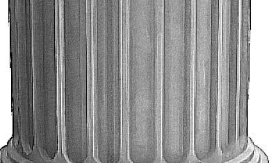 Bas de Colonne Grec (texture effet aquarelle)
