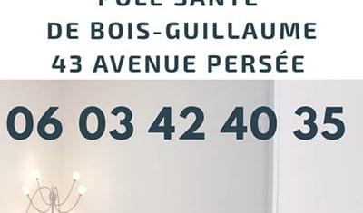 Cabinet au Pôle Santé de Bois-Guillaume (76)