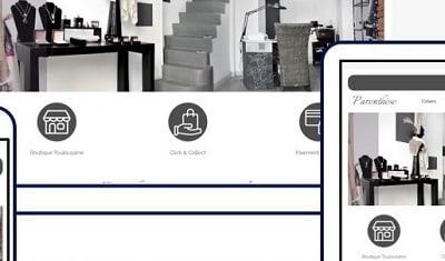 Création Boutique en Ligne pour un Commerce indépendant / Drupal 8