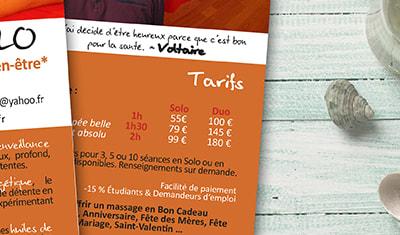 Flyer - Aux Mains AGilles
