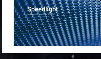 Site vitrine - Speedlight