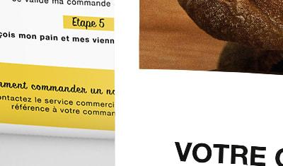Dépliant commercial - Touflet Boulanger
