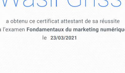 Fondamentaux du marketing numérique