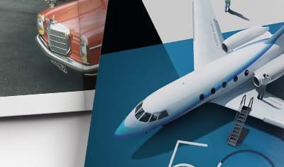Livre anniversaire 50 ans d'Histoire / Dassault Falcon Services