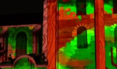 Mapping Vidéo // Animation