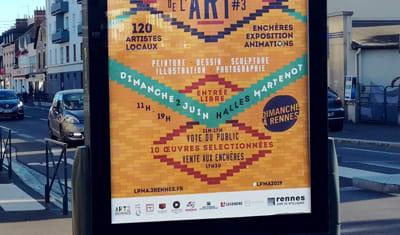 Affiche 2019 - Le Petit Marché de l'Art