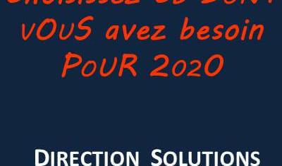 Je vous souhaite une brillante année 2020 !