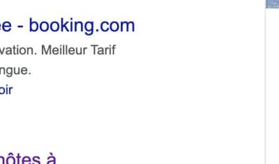1ère place Aux Résultats de Recherche Google Ads - La Vieille Maison