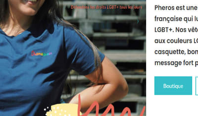 Réalisation du site E-commerce Phèros