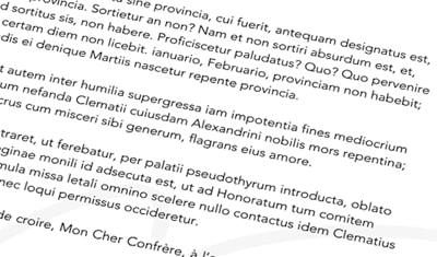 Création de l'identité visuele du cabinets d'avocats Cattaneo-Ramboz