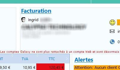 Module d'importation de commandes Web (plateforme e-commerce Magento) vers l'ERP interne en WD24