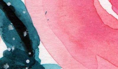 Composition fleurale aquarelle