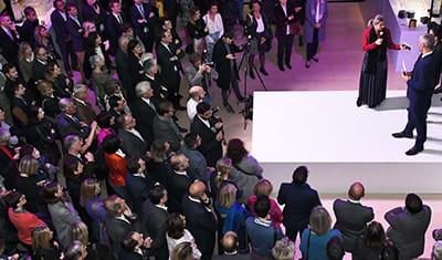 Vernissage Exposition Yves Saint Laurent