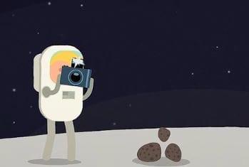Voyage à travers le Cosmos - Les premiers pas de l'Homme sur la Lune (https://vimeo.com/197454503)
