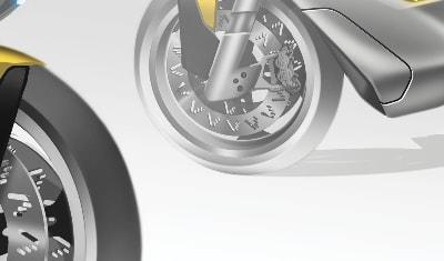 Photoshop // Raffinement de volume concept bike