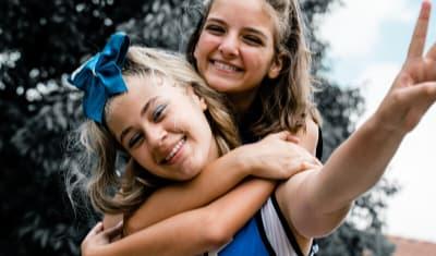 Shooting pour une école de Cheerleading
