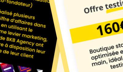 Site internet BKB Agency