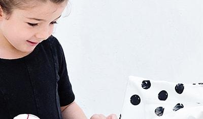 Mini tente pour jouer et ranger en coton bio