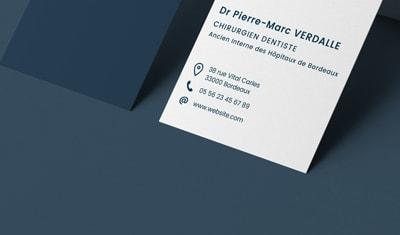 Identité visuelle, logo pour CDBC (Cabinet Dentaire Bordeaux Centre)
