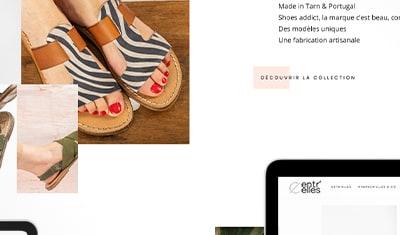 Création d'un site e-Commerce pour le Concept Store Entr'Elles