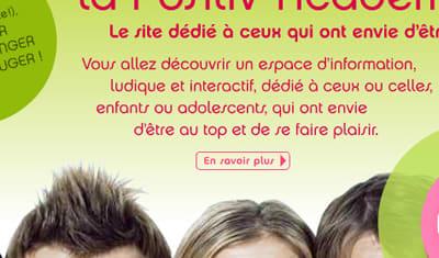 """Campagne """"Positiv'Académie"""" pour Danone Restauration"""