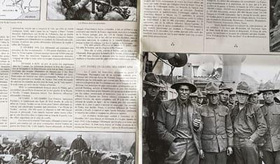 Mise en page d'un Journal historique format 30x40 cm