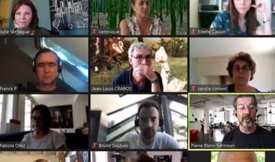 formation animation de réunion à distance