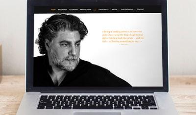 Site Internet José Cura - Chanteur d'opéra