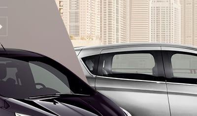 Site présentant le gamme Ford B-Max