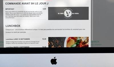 Site restaurant et vente en ligne - La Table des Poètes