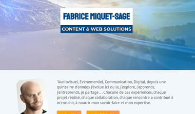 SITE WEB // Portfolio Développeur