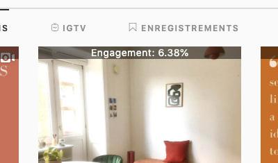 La page Instagram de ma Startup