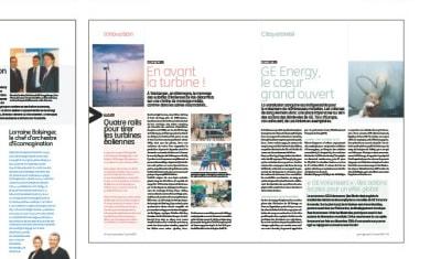 Magazines, Chartes graphique, Presse